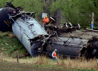 Latest Oil Train Derailment Adds Pressure For Stronger U.S. Action