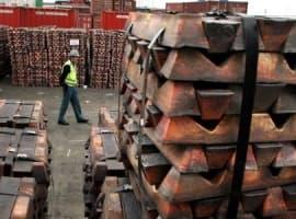 Copper exports