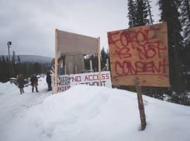 Coastal gaslink protests