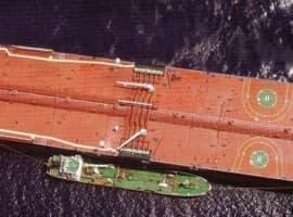 tanker aerial photo