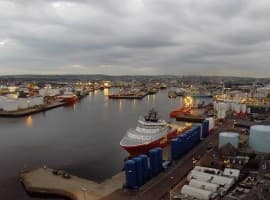 Aberdeen port