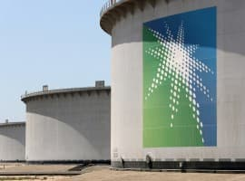 Aramco storage tanks