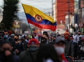 Protests Colombia