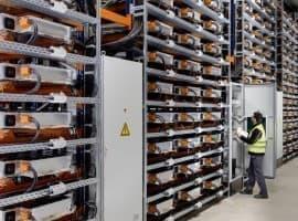 BMW battery storage