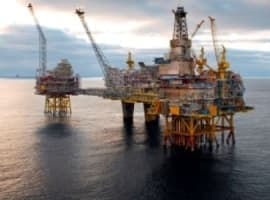 Giant North Sea Oilfield Boosts Production To 350,000 Bpd