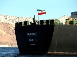 Report: Iranian Tanker Offloads Oil At Syrian Port