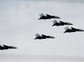 Iran Starts Air Force Drills Near The World's Crucial Oil Chokepoint