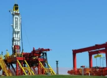 """""""Walking"""" Oil Rigs Can Make Drilling Faster, Cheaper, Safer"""