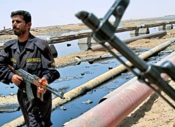 Iraqi Oil Locked in by Infighting