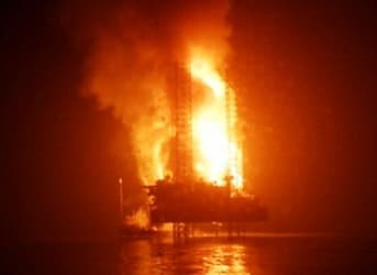 The Shocking Truth Behind Chevron's Gas Rig Fire off the Coast of Nigeria