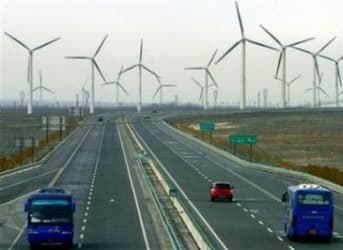 China Now World's Leader in Wind Power