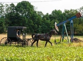 Fracking Companies Take Advantage of Amish Religious Beliefs