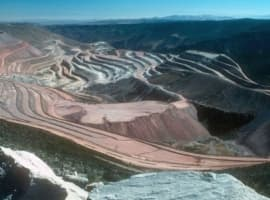 Peru Copper mine