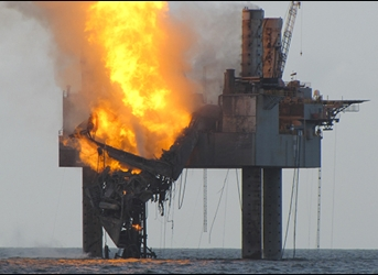 Rig Fire Exposes Lingering Dangers of Offshore Drilling