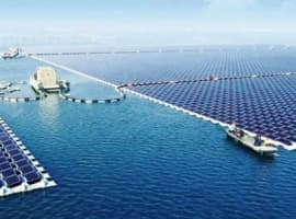 China Completes World's Biggest Floating Solar Farm