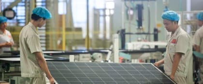 Supersizing The Solar Industry