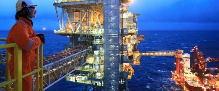 BP offshore rig