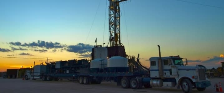 Baker Hughes walking rig