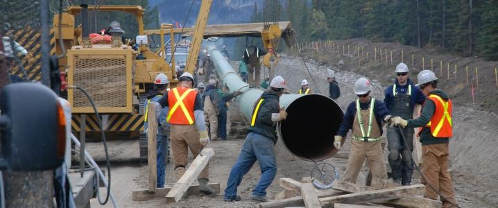 Transmountain pipeline