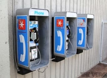 Charging Electric Cars from Old Pay Phones