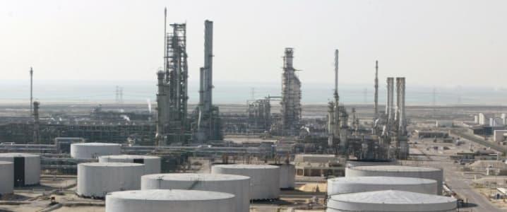 Saudi Storage at plant