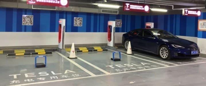 China EV parking
