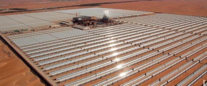 Shams solar plant
