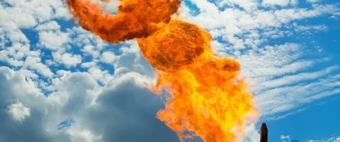 Big Oil Burning Cash