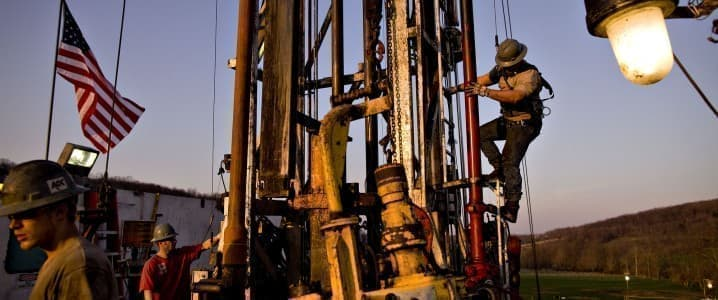 Shale rig