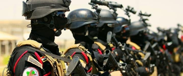 Iraqi commandos