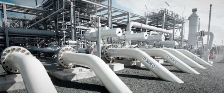 Natural gas infrastructure