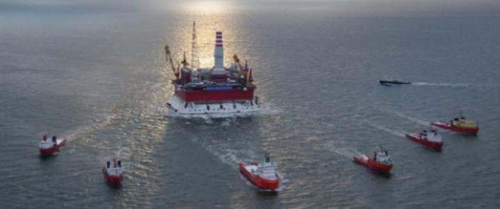Prirazlomnaya offshore rig