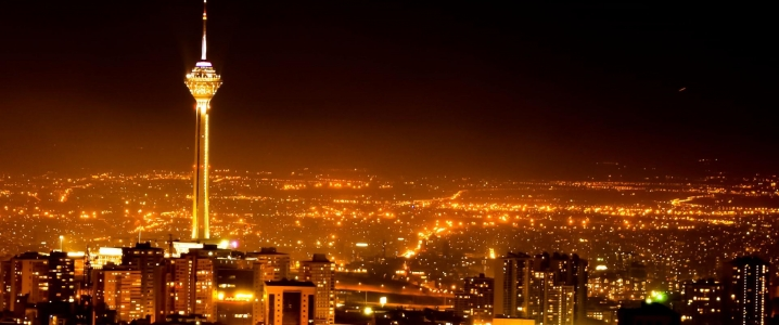 Tehran by night