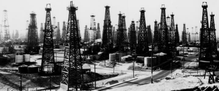Old Oil Rigs