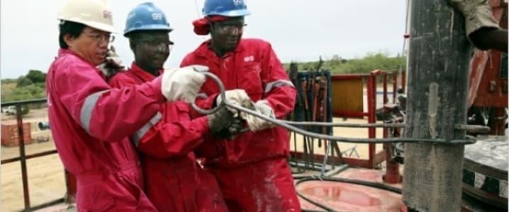 Halliburton workers