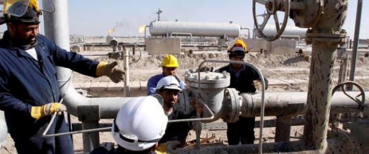 Iraqi oil workers