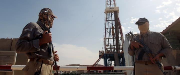 Iraq Oil Rig