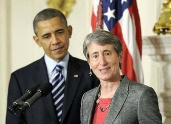 With Jewell, Obama Says Go Green or Go Home