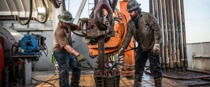 Shale oil drillers