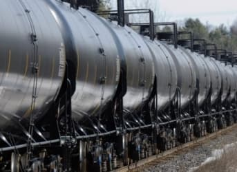 Oil Shipments By Rail Declining