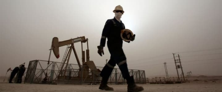 OPEC oil worker