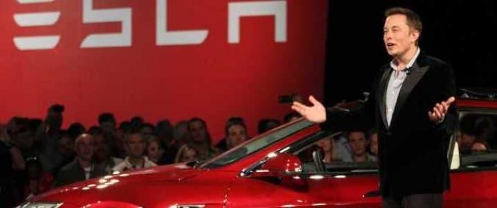 Tesla Musk presentation