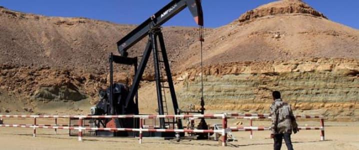 Libya oil well