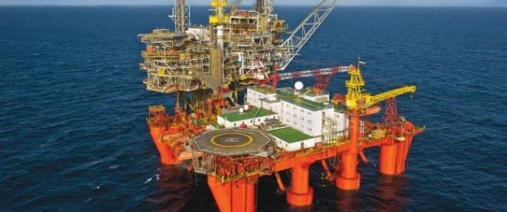 Conoco offshore rig