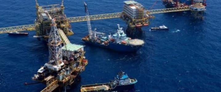 Offshore rigs KMZ