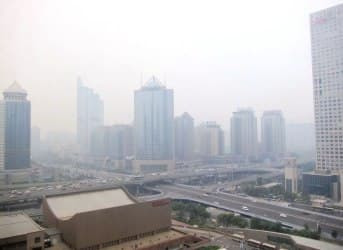 China's Smog Becoming an International Issue