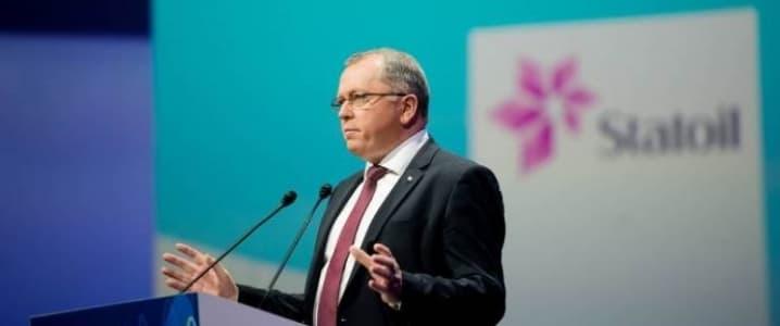 Eldar Saetre Statoil CEO
