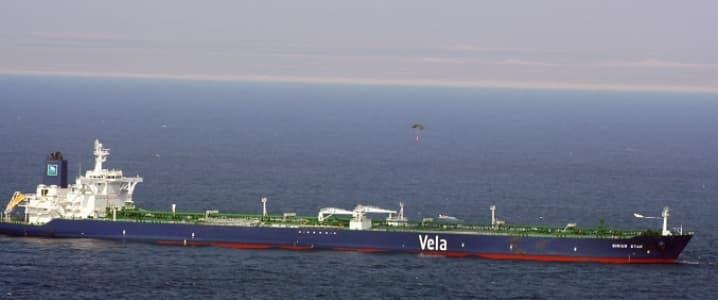 Saudi Crude tanker