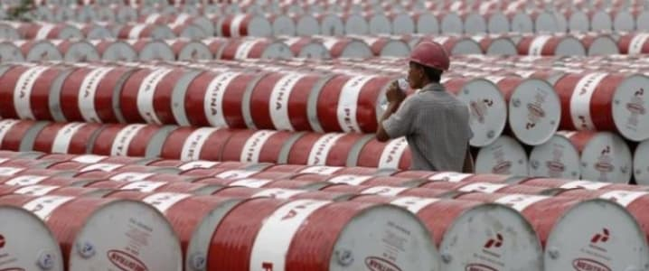 Oil barrels Pertamina