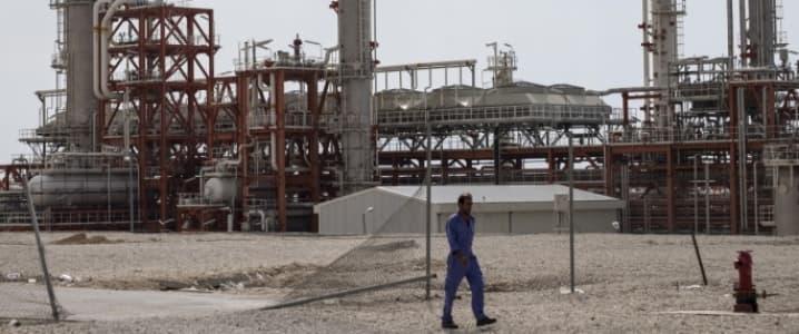 Iran Gas Field